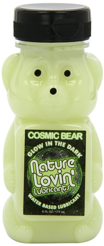 Nature Labs Cosmic Bear Glow In The Dark Lubricant 6OZ
