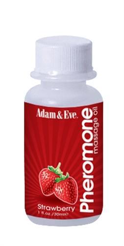 Adam & Eve Pheromone Massage Oil 1OZ