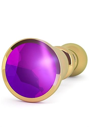 Rich R2 Purple Sapphire Anal Plug