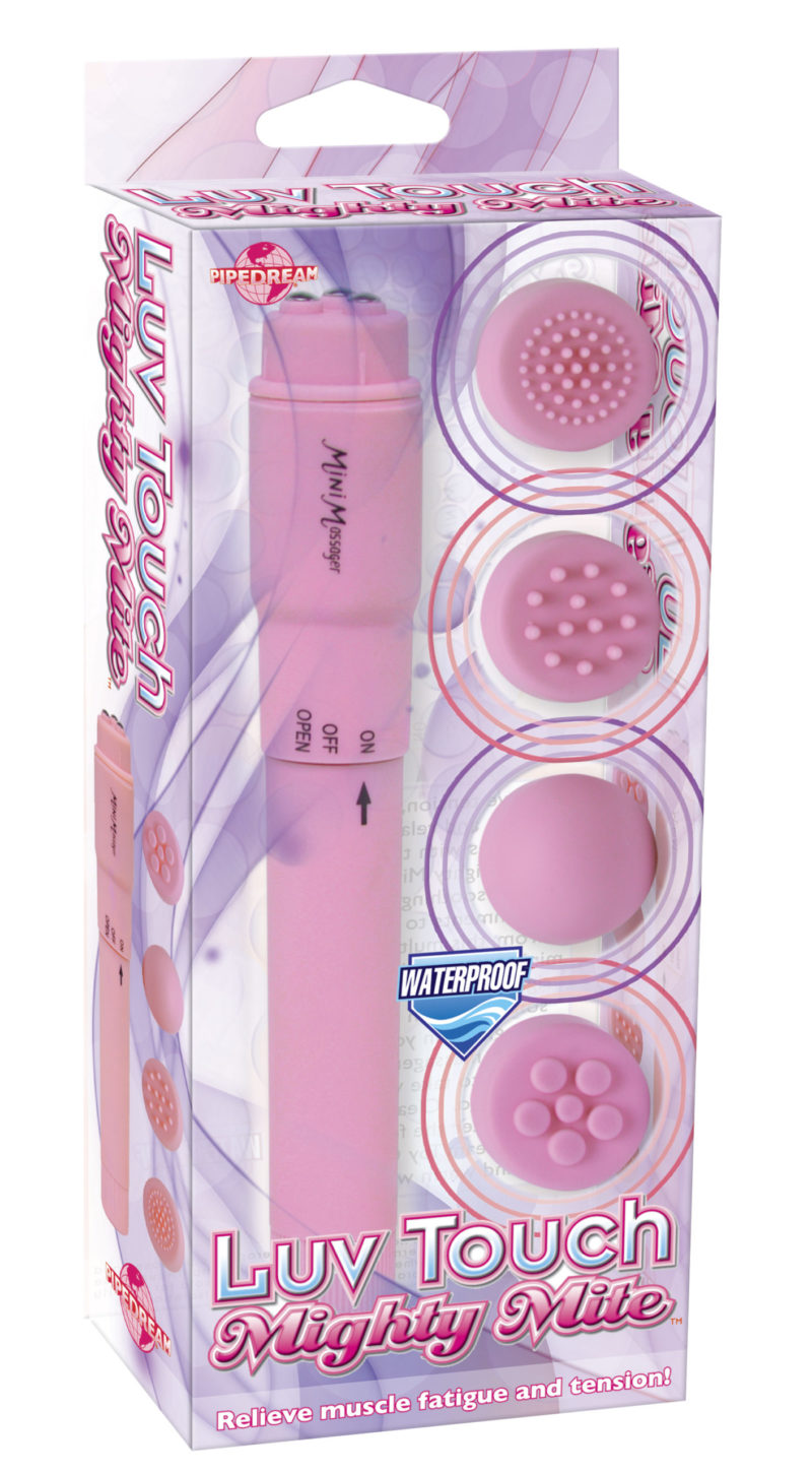 Pipedream Luv Touch Mighty Mite Rocket Vibrator