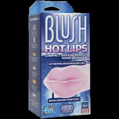Doc Johnson Blush Hot Lips Masturbator