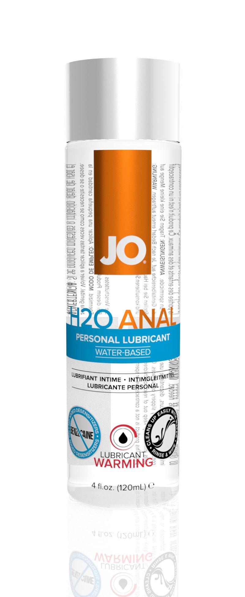 System JO H2O Anal Warming Lubricant 4OZ
