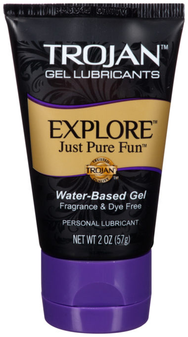 Trojan Explore Water-Based Gel Lubricant 2OZ
