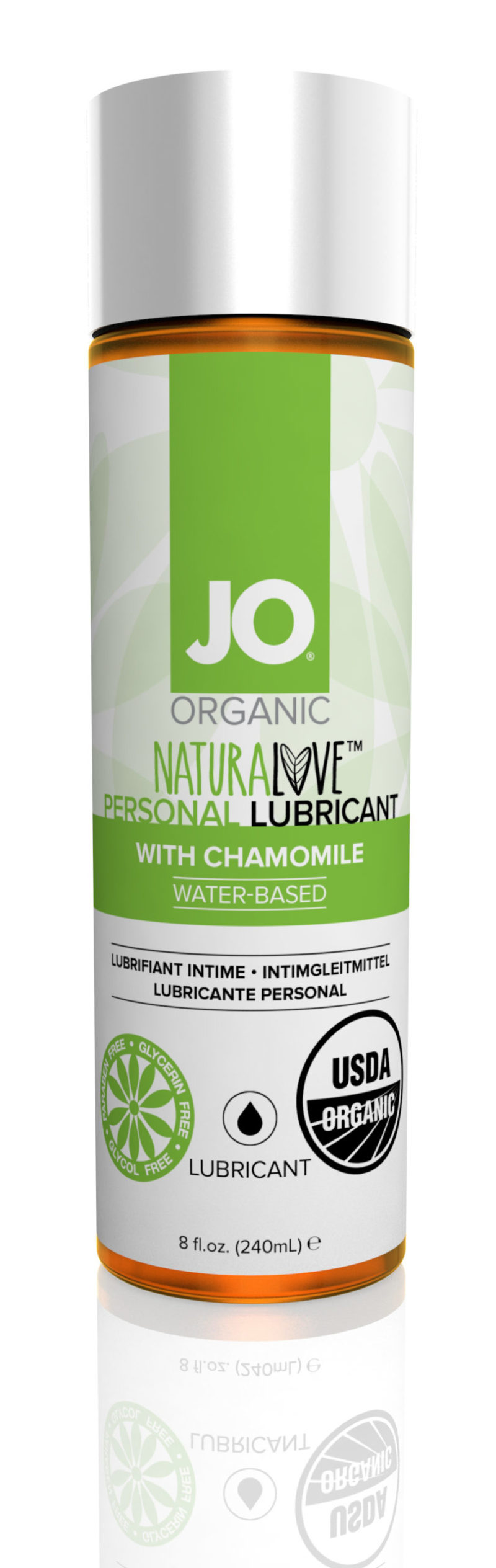 System JO Organic Water-Based Lubricant 8.0 OZ