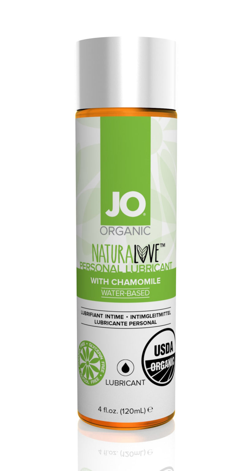 System JO Organic Water-Based Lubricant 4.5 OZ