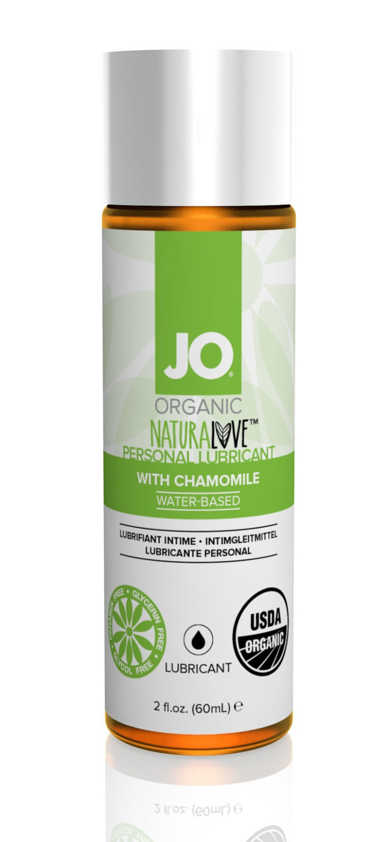 System JO Organic Water-Based Lubricant 2.5 OZ