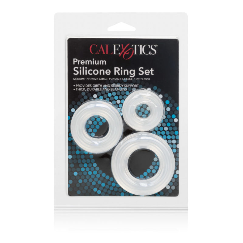 California Exotic Premium Silicone Ring Set