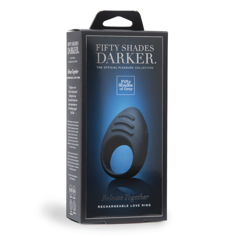 Fifty Shades Darker Release Together Rechargeable Cock Ring