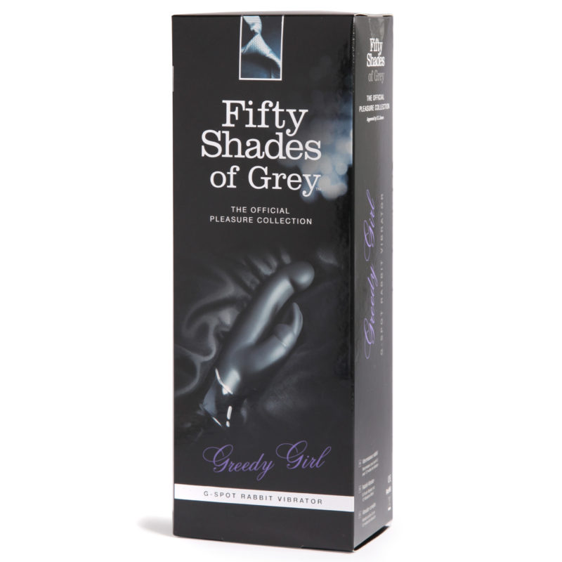 Fifty Shades Greedy Girl Rechargeable G-Spot Rabbit Vibrator