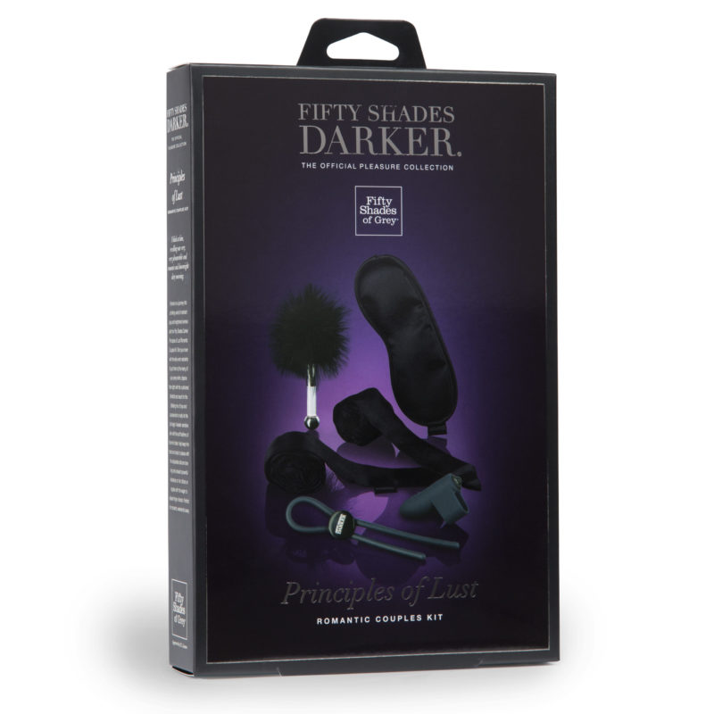 Fifty Shades Darker Principles Of Lust Romantic Couples Kit