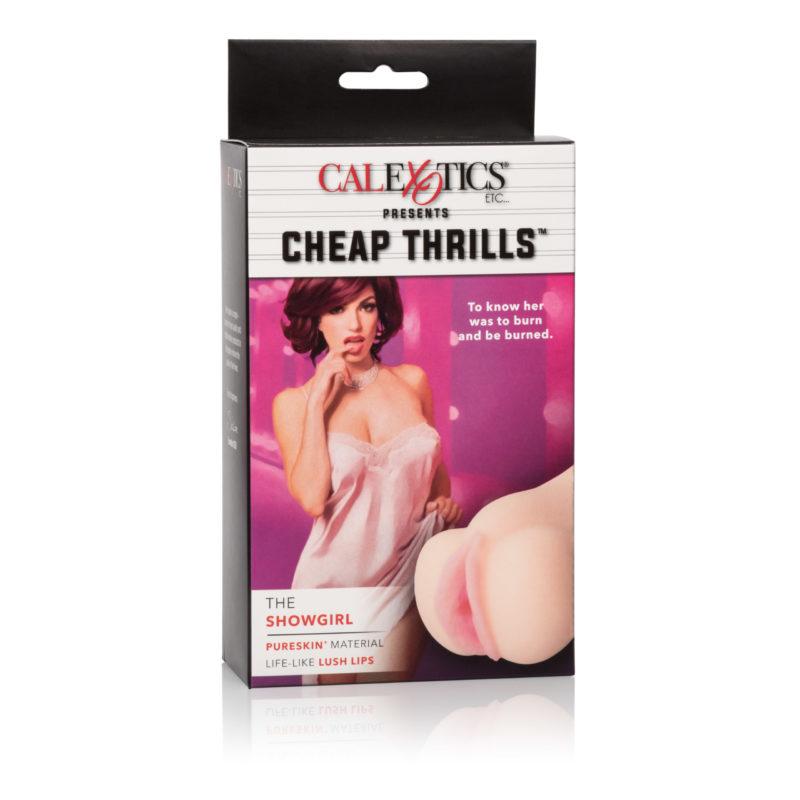 California Exotic Cheap Thrills The Showgirl Masturbator
