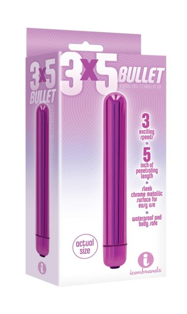 "Icon Brands Multispeed 5"" Bullet"