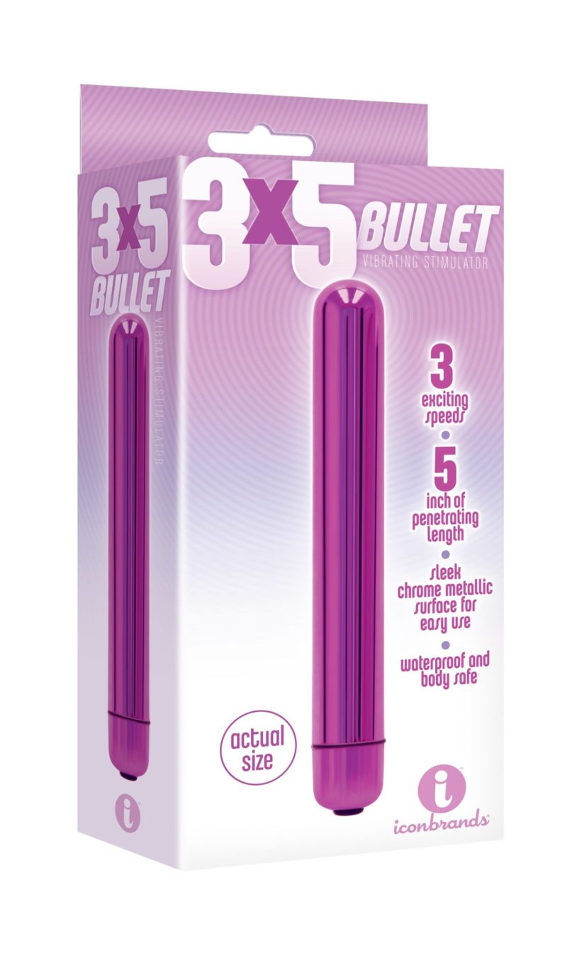 "Icon Brands Multispeed 5"" Bullet"