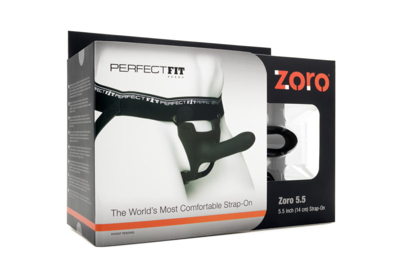 """Perfect Fit Zoro Knight 5.5"""" Hollow Strap-On"""
