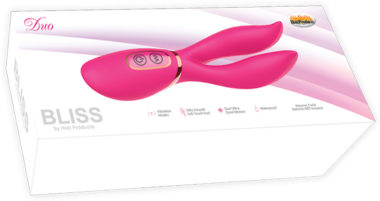 Hott Products Bliss Duo Clitoral Vibrator