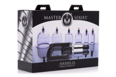 Master Series Sukshen 6 Piece Cupping Set