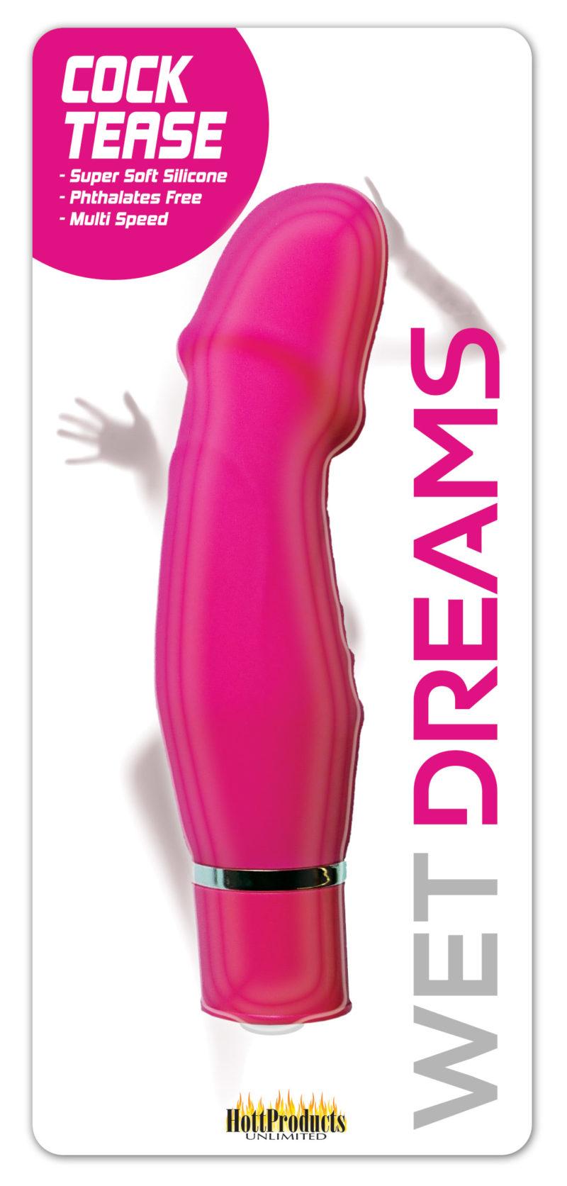 Hott Products Wet Dreams Cock Tease Vibrator