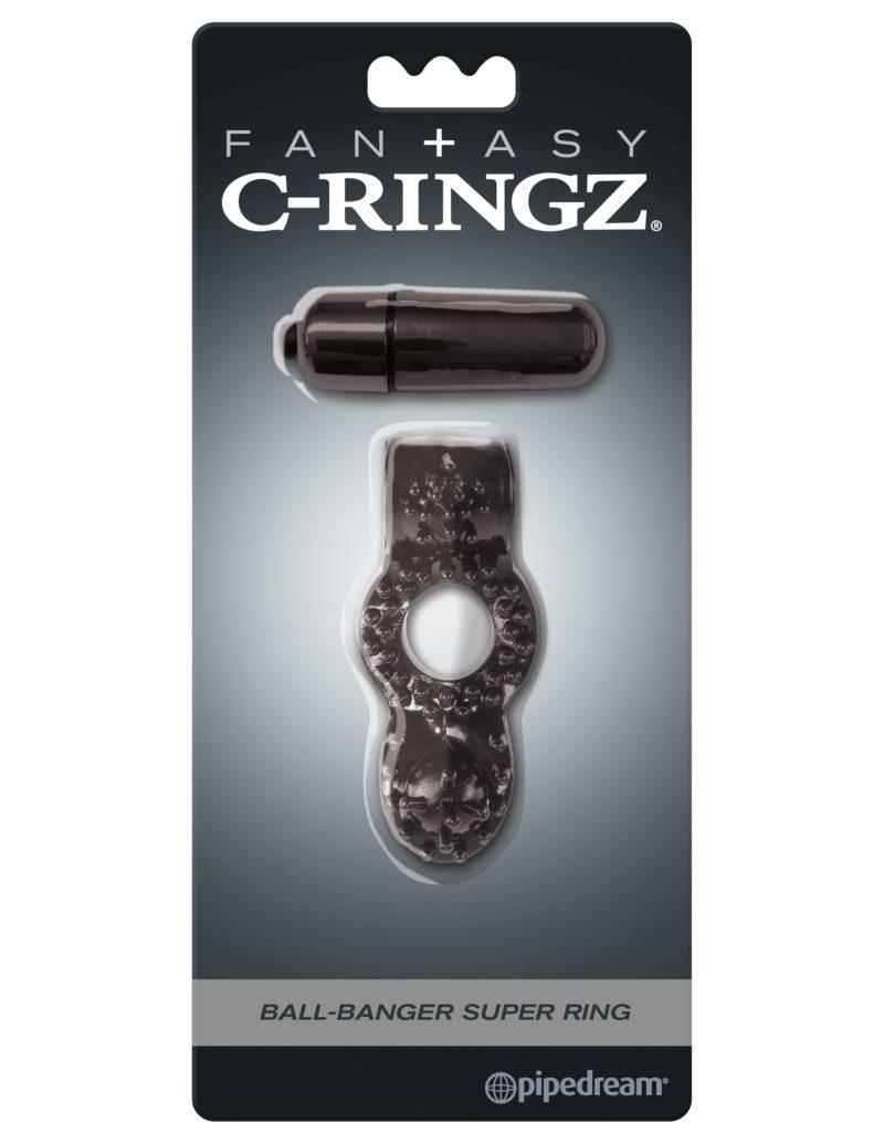Pipedream Fantasy C-Ringz Ball-Banger Super Ring Black