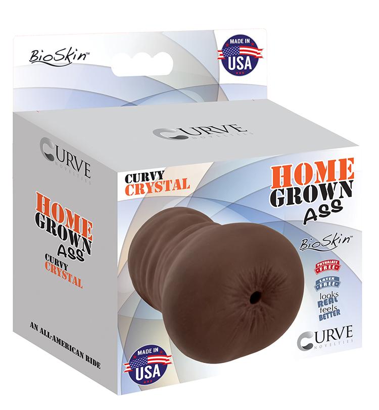 Curve Novelties Home Grown Ass Curvy Crystal