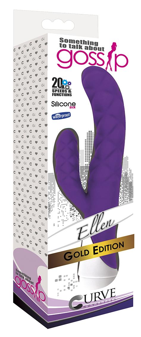 Curve Novelties Gossip Ellen Rabbit Vibrator