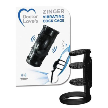 Doctor Love Zinger Vibrating Cock Cage