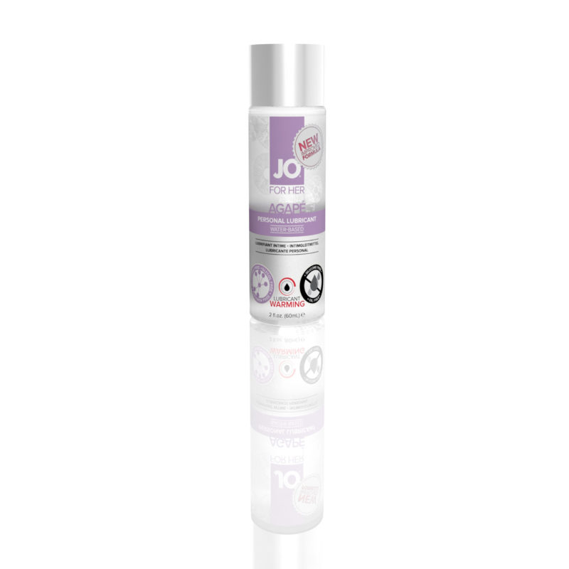 Jo for Her Agape Lubricant Warming 2oz