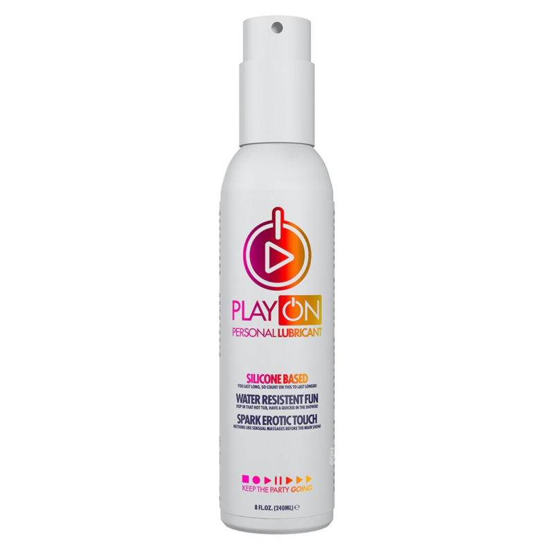 Play On Silicone Based Lube 8oz