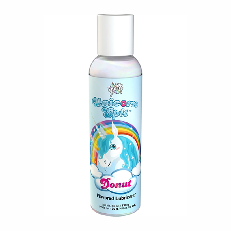 Wet Unicorn Spit Donut Flavored Lubricant