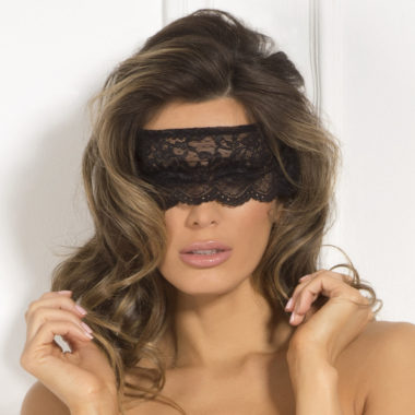 Crotchless Panty and Mask Set
