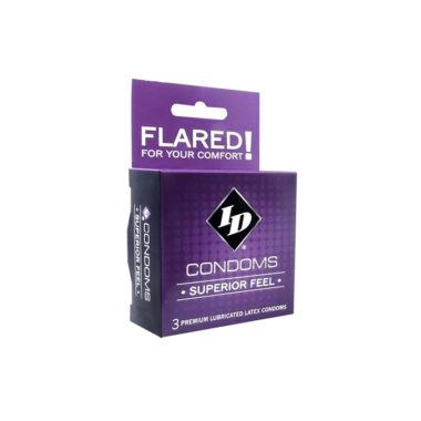 ID Superior Feel Condoms - 3 Pack