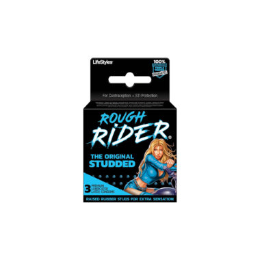 Rough Rider Studded Lubricated Condoms