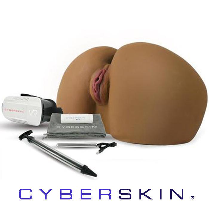 CyberSkin Elite Dark Twerking Butt Life Size Masturbator
