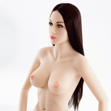 Luvdollz Brown Hair Blue Eyes Life Size Doll