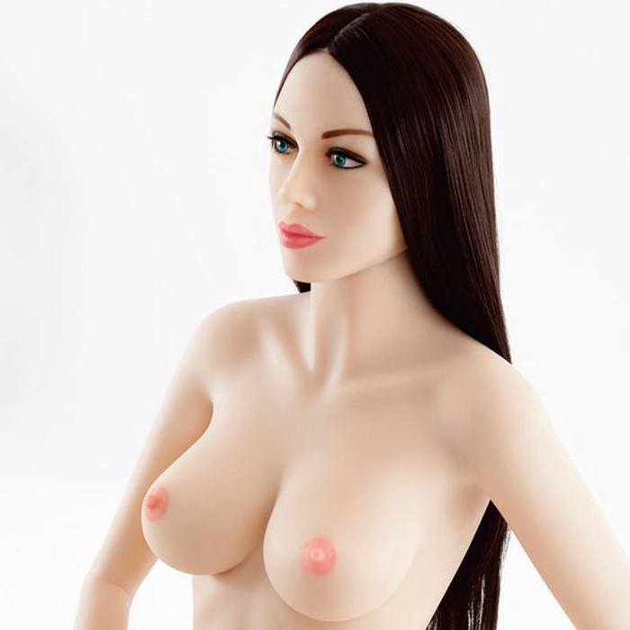Luvdollz Brown Hair Blue Eyes Life Size Doll