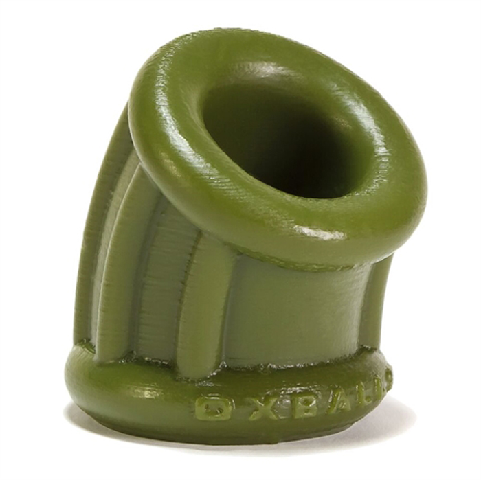 Bent 1 Ball Stretcher Curved Silicone Cock Ring