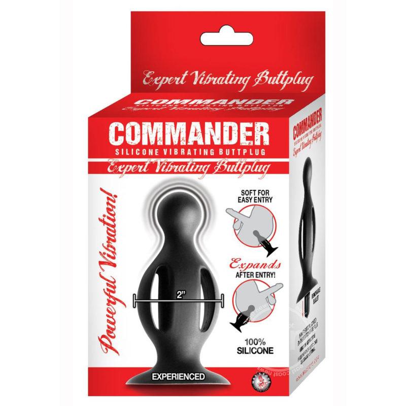 Commander Expert Vibrating Butt Plug