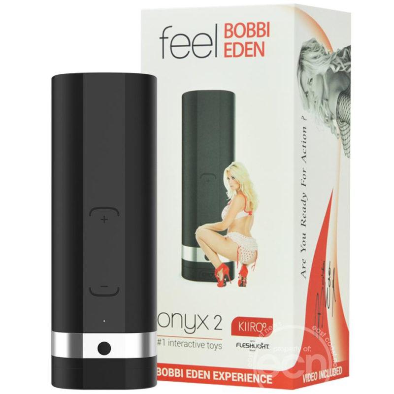 Kiiroo Onyx2 Bobbi Eden Experience Masturbator