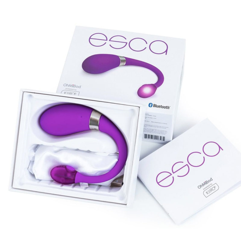 OhMiBod Esca2 Powered by Kiiroo Wearable Vibrator