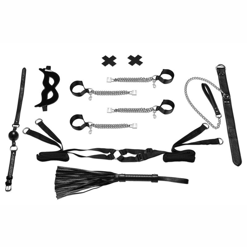 All-Chained-Up Bondage Play Bedspreader Set
