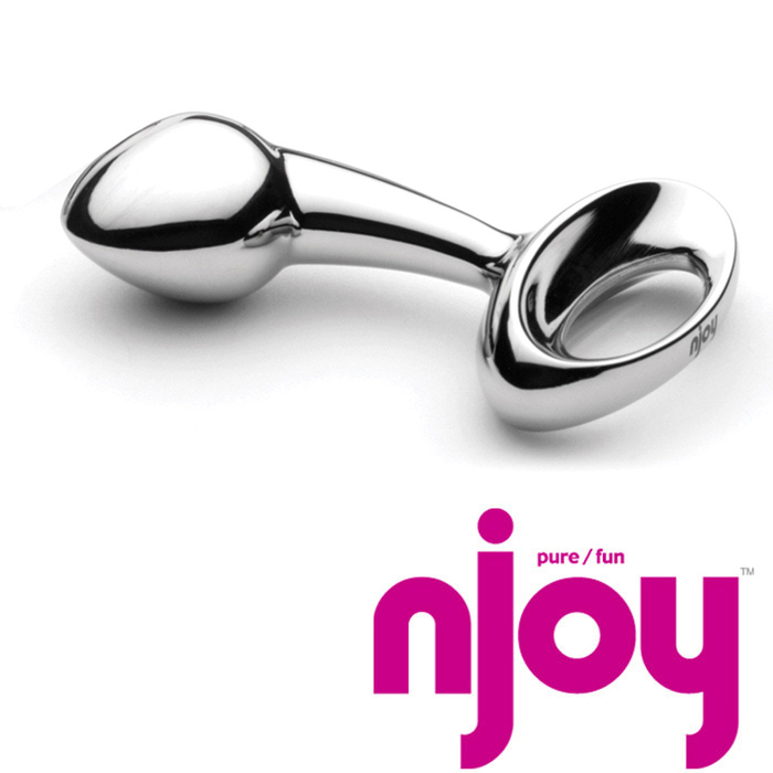 Njoy Pure Large Stainless Steel Anal Plug