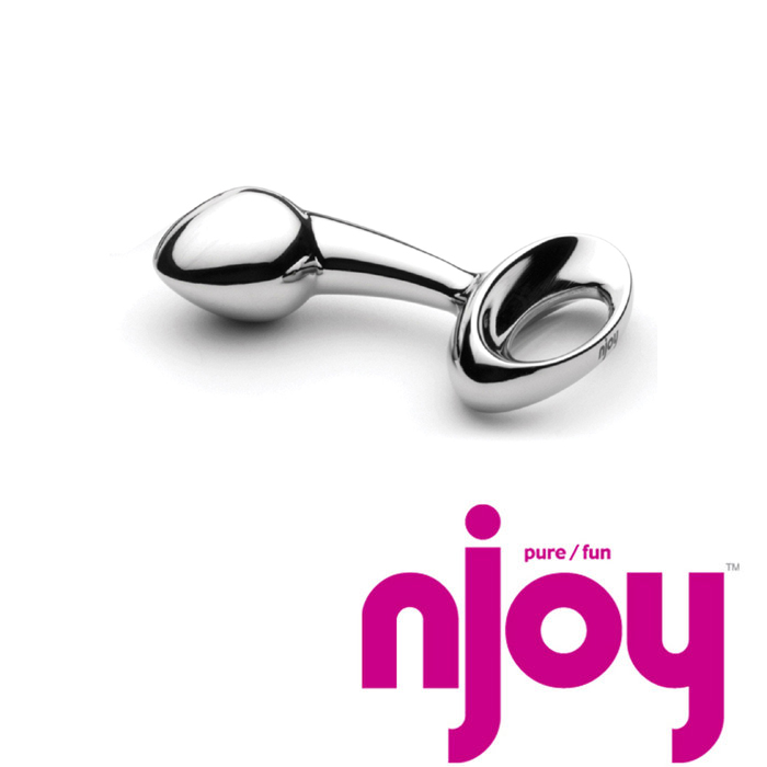 Njoy Pure Small Stainless Steel Anal Plug