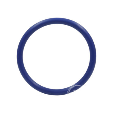 Rubber Cock Ring 2 Inch Blue