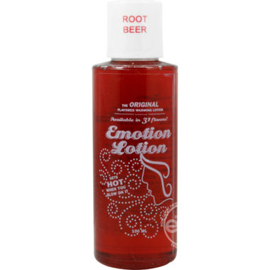 Emotion Lotion Root Beer Water Based Warming Lotion