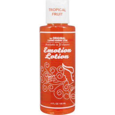 Emotion Lotion Tropical Fruit Water Based Warming Lotion