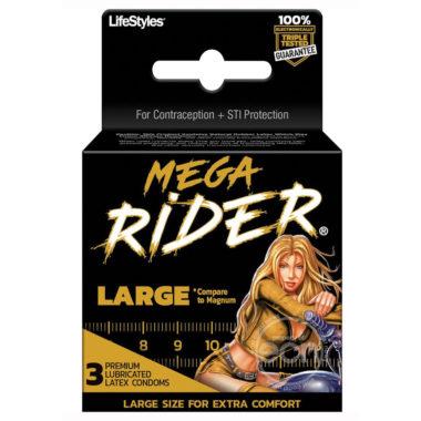 Mega Rider Condoms